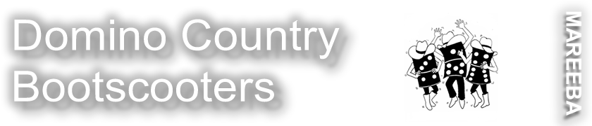 Domino Country Bootscooters Logo